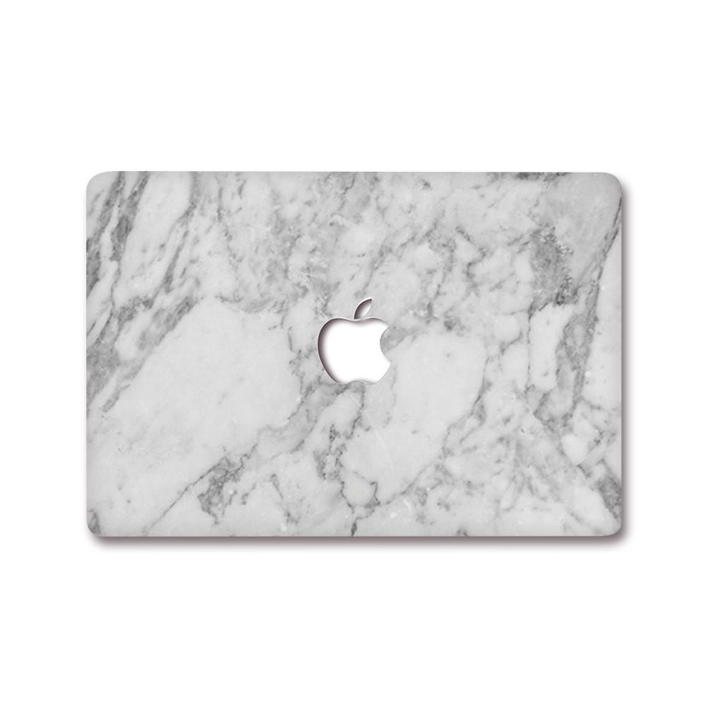 Best Macbook Decal - MacBook Decal - White Marble