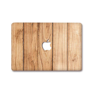 MacBook Decal - Wood | Slick Case