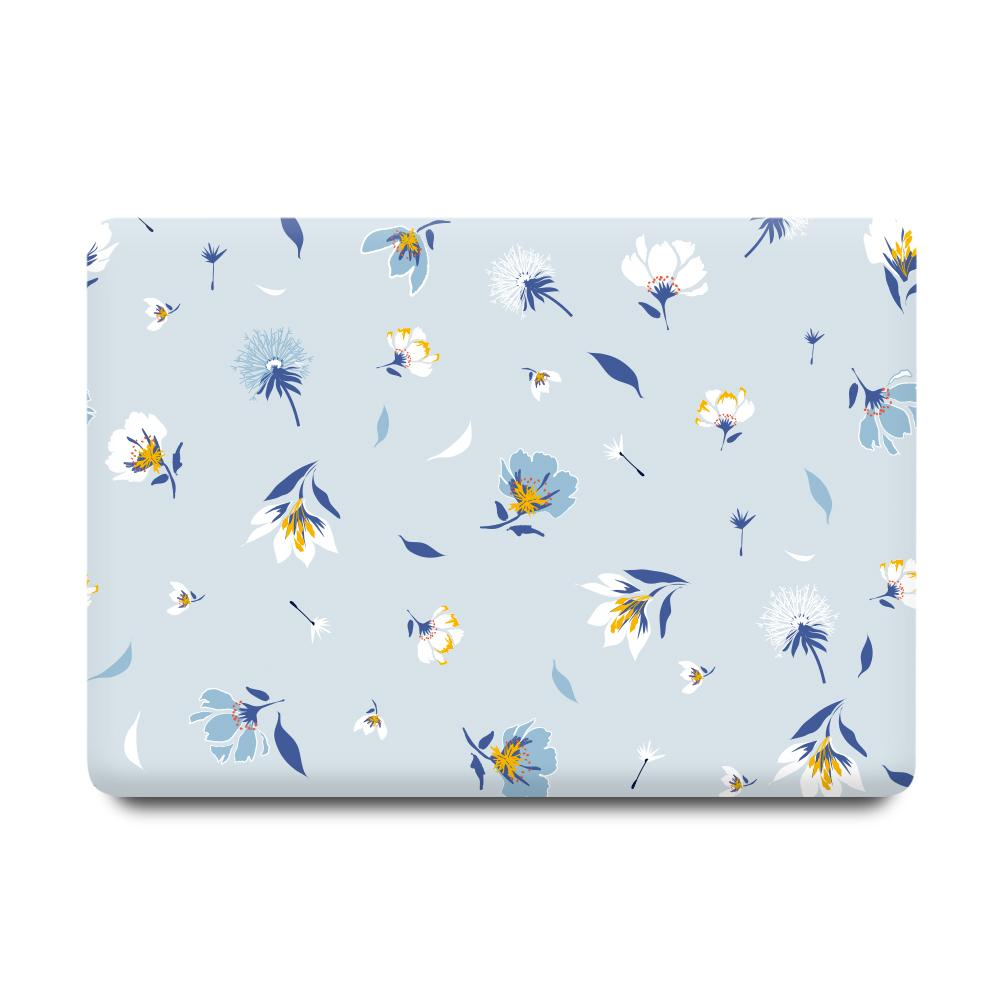 Best Macbook Case - MacBook Case - Baby Blue Floral Blossom [A2141] New MacBook Pro 16' 2019