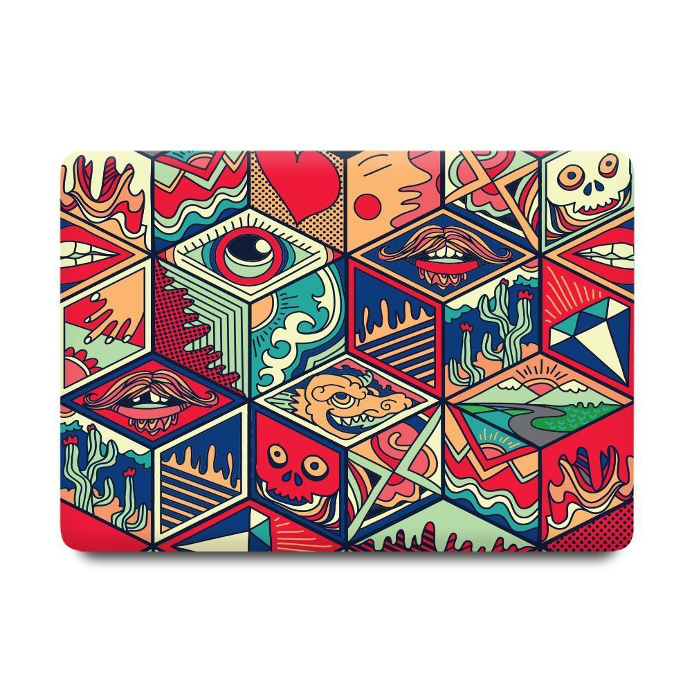 Macbook Sleeve Package Macbook Case Sleeve Package - Chinese Sculpting Rhombus