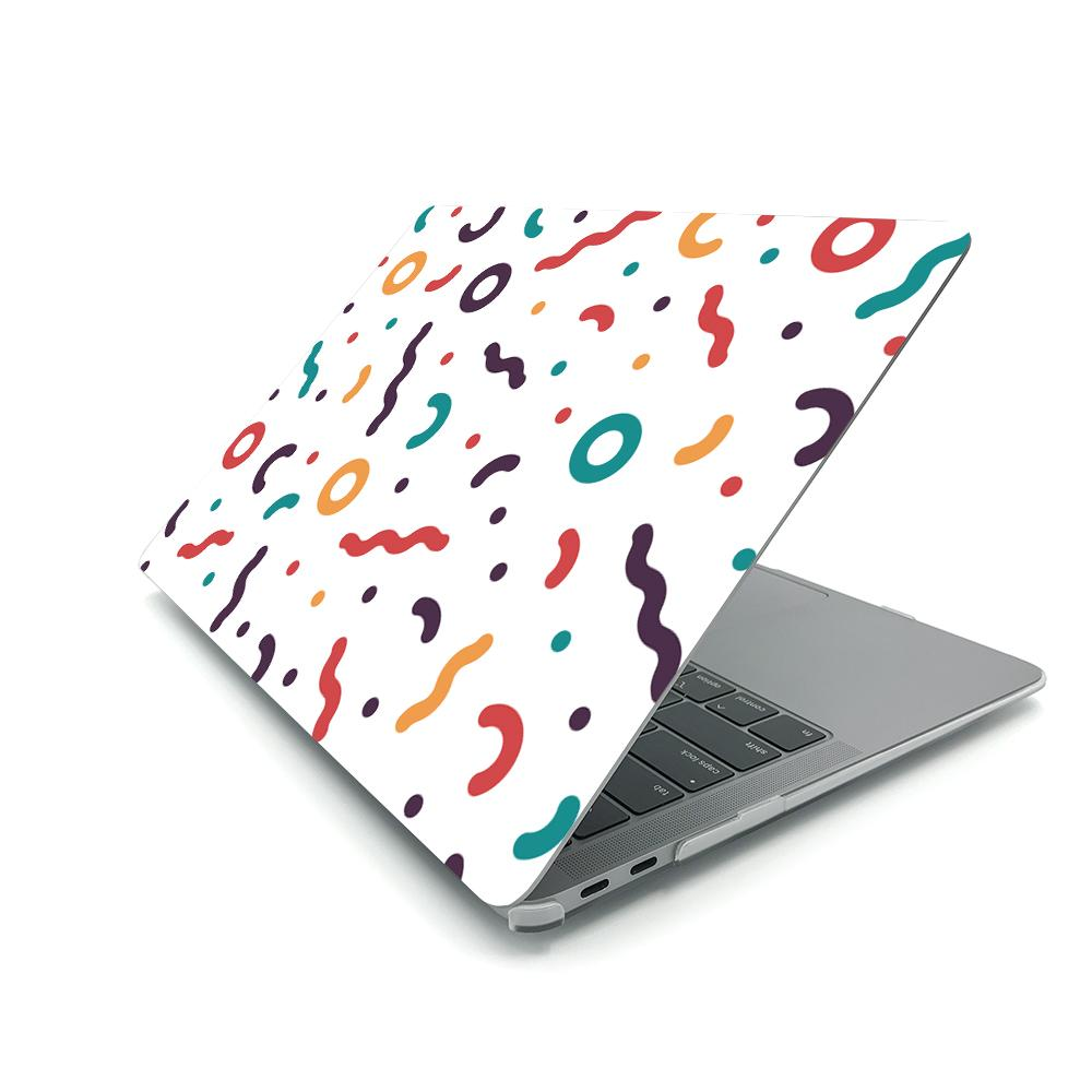 Best Macbook Case - MacBook Case - Colourful Confetti