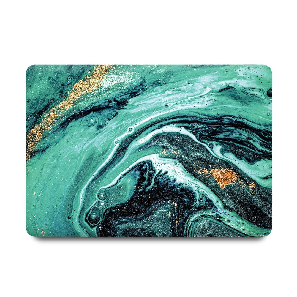 Best Macbook Case - MacBook Case - Emerald Glitter Marble [A2141] New MacBook Pro 16' 2019
