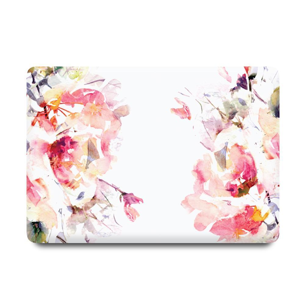 Best Macbook Protective Package - MacBook Case Protective Screen Package - Floral Celestial [A2141] New MacBook Pro 16' 2019 / Multi-Color Macbook Keypads - Snowy White