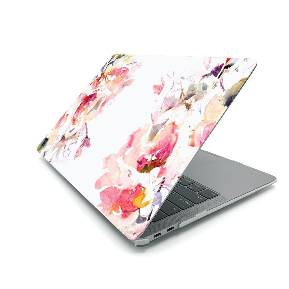 Best Macbook Protective Package - MacBook Case Protective Screen Package - Floral Celestial
