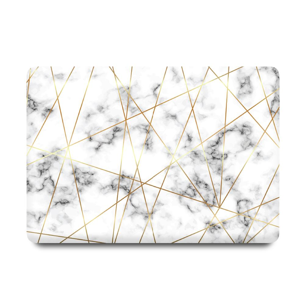 Best Macbook Case - MacBook Case - Golden Geometric Marble [A2141] New MacBook Pro 16' 2019