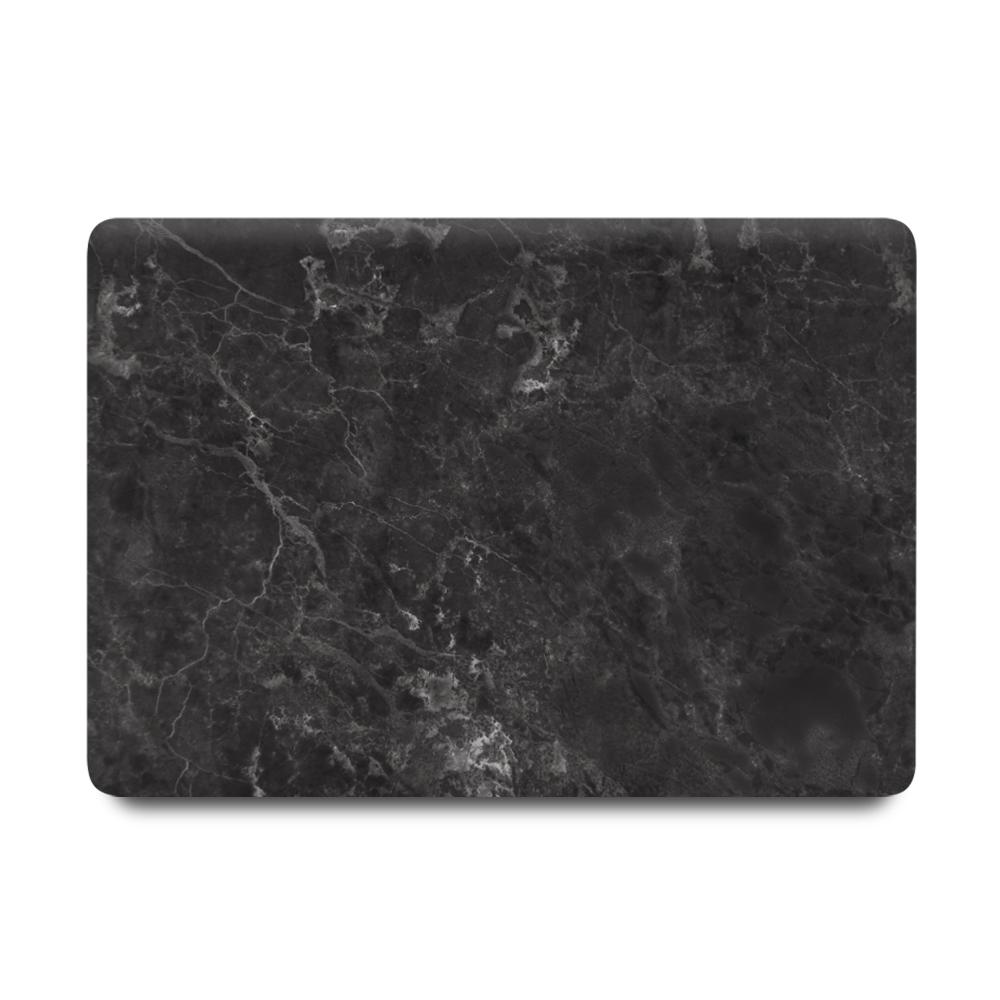 Best Macbook Sleeve Package - Macbook Case Sleeve Package - Gunmetal Grey Marble [A2179] New MacBook Air 13' 2020 / MacBook Sleeve - Spill-Proof Leather Zip Bag in Black / Gradient Keypad - Grey