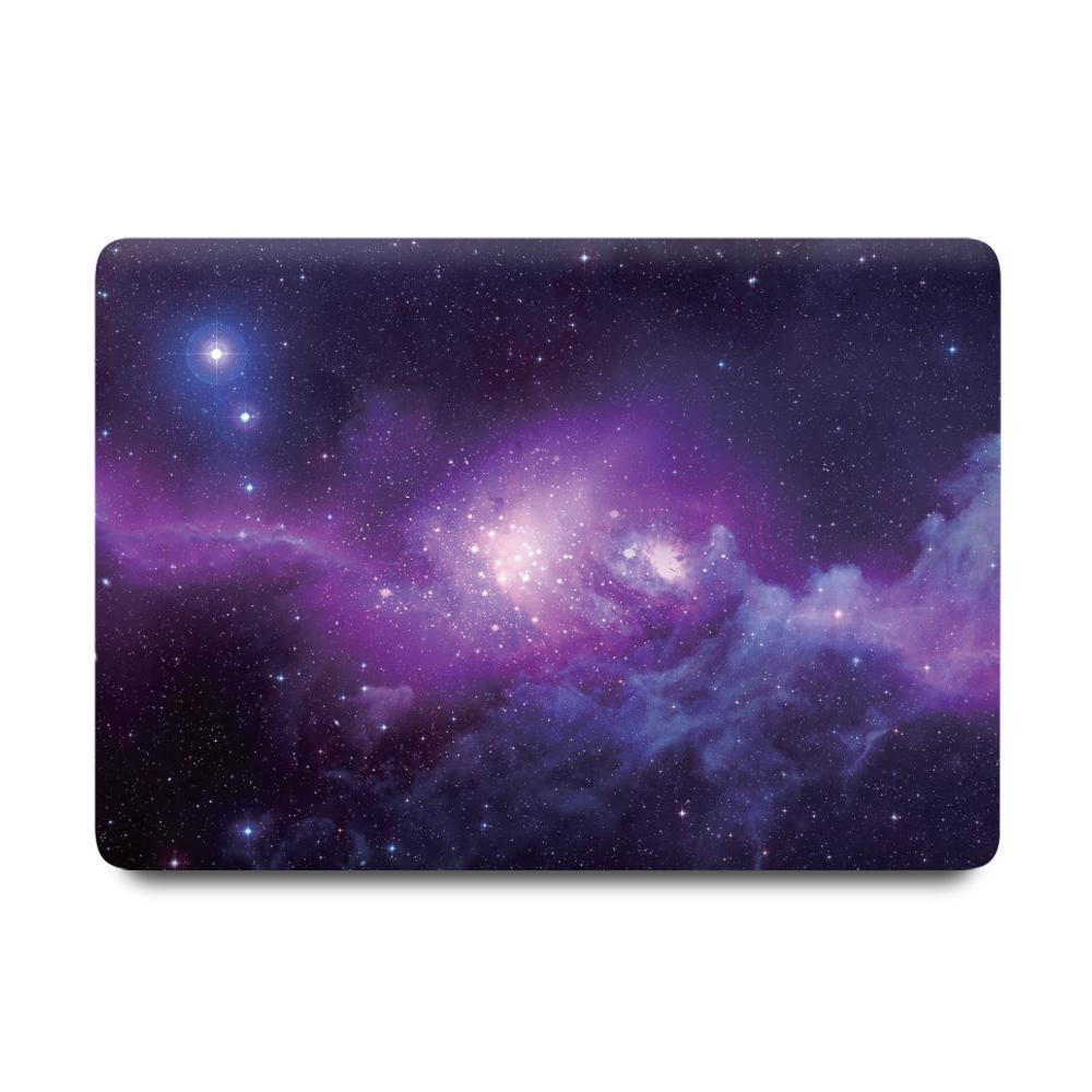 Best Macbook Protective Package - MacBook Case Protective Screen Package - Intergalactic Space [A2141] New MacBook Pro 16' 2019 / Multi-Color Macbook Keypads - Carbon Black