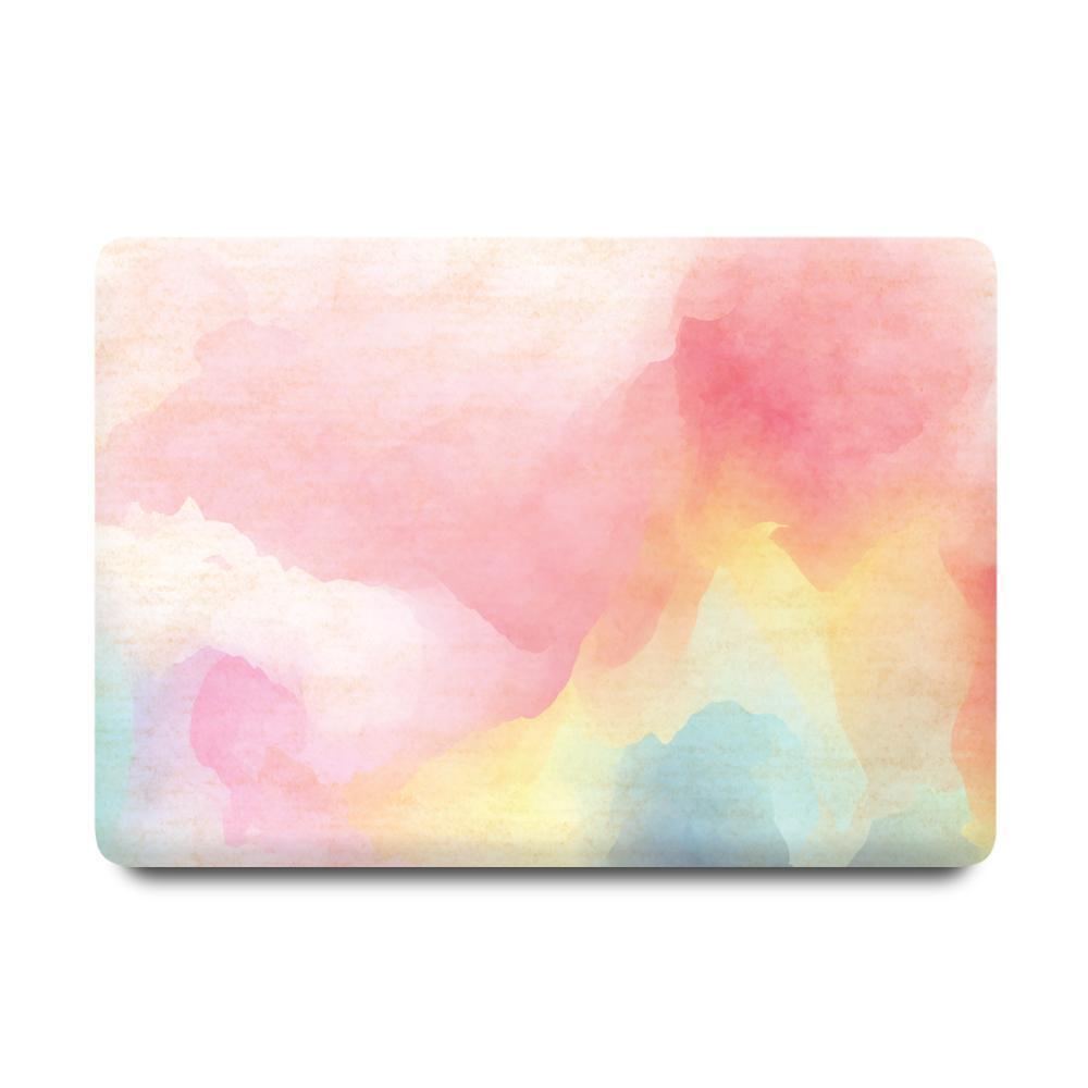 Best Macbook Discount Package - MacBook & iPhone Case Package - Rainbow Mist [A2141] New MacBook Pro 16' 2019 / iPhone 11 / Gradient Keypad - Blue