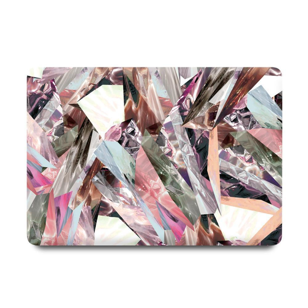 Best Macbook Discount Package - MacBook & iPhone Case Package - Refraction Marble [A2141] New MacBook Pro 16' 2019 / iPhone 7/8 / Gradient Keypad - Grey
