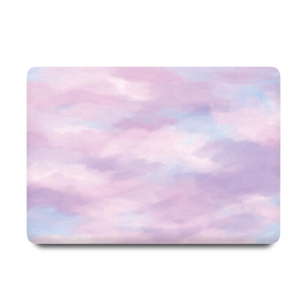 Best Macbook Discount Package - MacBook & iPhone Case Package - Violet Mist [A2141] New MacBook Pro 16' 2019 / iPhone XS / Gradient Keypad - Purple