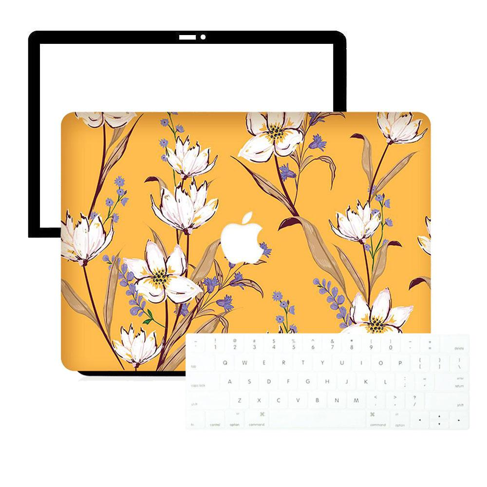Best Macbook Protective Package - Macbook Case Protective Screen Package - Oriental Botanical Garden