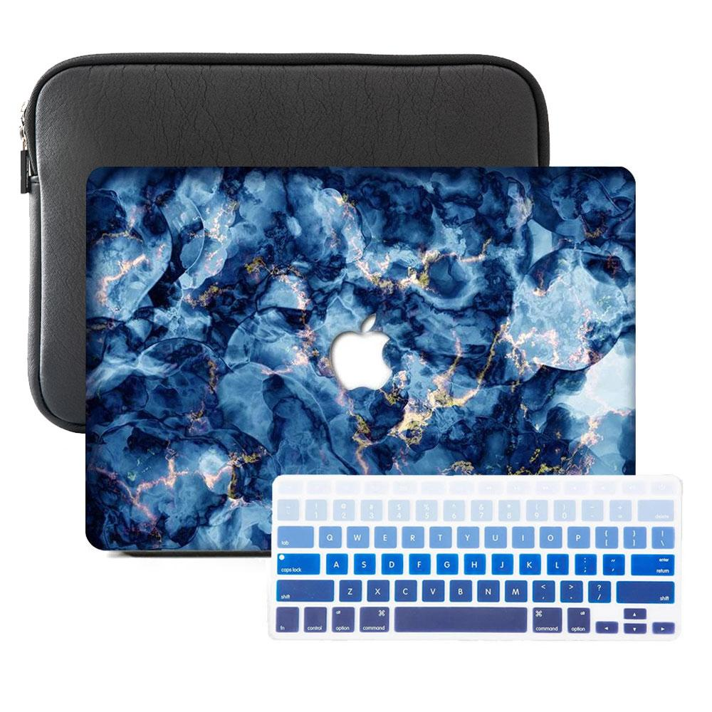 Macbook Case Sleeve Package - Oceanic Electrify - Slick Case
