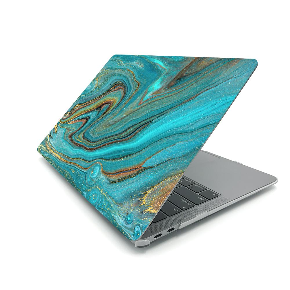 Best Macbook Case - MacBook Case - Aqua Swirl