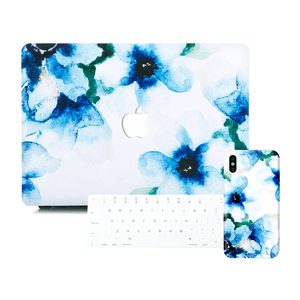 Macbook Discount Package [A1370/A1465] MacBook Air 11' / iPhone 6/6s / Multi-Color Macbook Keypads - Snowy White MacBook & iPhone Case Package - Violaceae