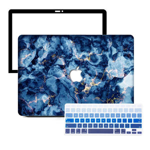 Macbook Protective Package Macbook Case Protective Screen Package - Oceanic Electrify