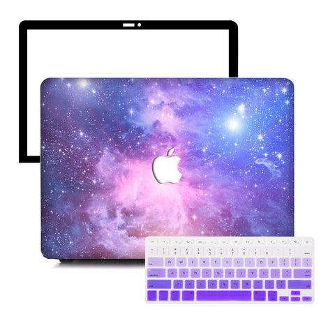 MacBook Protective Package - Purple Galaxy