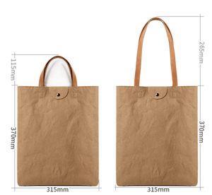 Mac Tote Bag - Brown