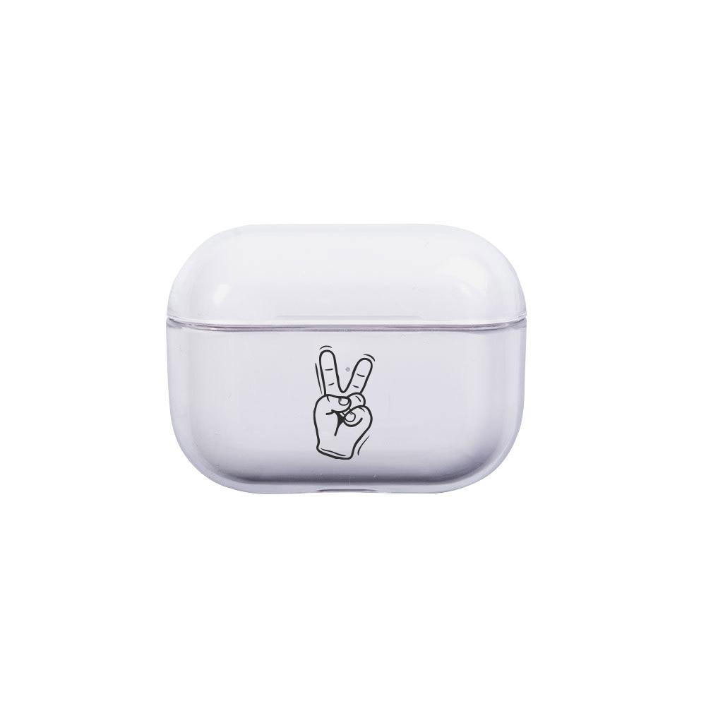 Best AirPods Case Protective Cover - AirPods Case Protective Cover - Peace Sign