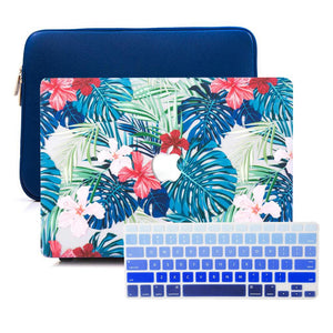 MacBook Case Sleeve Package - Floral Safari - Slick Case