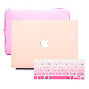 MacBook Sleeve Package - Nude Pink