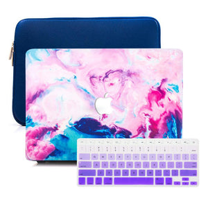 MacBook Case Sleeve Package - Nebula - Slick Case