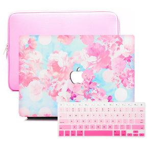 MacBook Case Sleeve Package - Sakura Blossoms - Slick Case