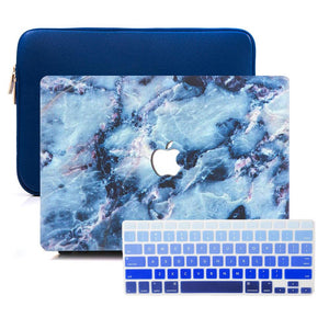 Macbook Sleeve Package MacBook Case Sleeve Package - Ocean Marble