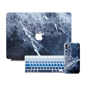 Macbook Discount Package [A1370/A1465] MacBook Air 11' / iPhone 6/6s / Gradient Keypad - Blue MacBook & iPhone Case Package - Thunderstorm