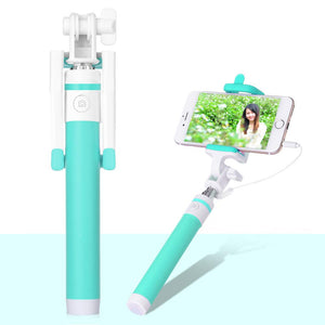 Accessories Turquoise Blue Selfie Stick