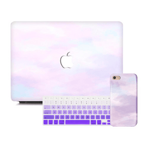 Macbook Discount Package [A1370/A1465] MacBook Air 11' / iPhone 6/6s / Gradient Keypad - Purple MacBook & iPhone Case Package - Violet Mist
