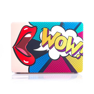 Macbook Case - Comic WOW! - Slick Case