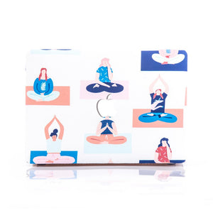Macbook Case - Yoga Ladies