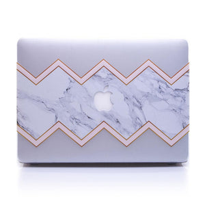 MacBook Transparent Case - Zig Zag