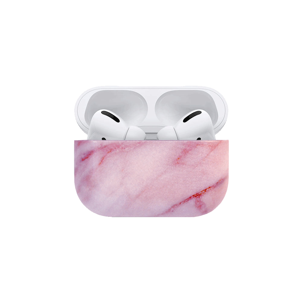 Best AirPods Case Protective Cover - AirPods Case Protective Cover - Pink Marble AirPods Pro