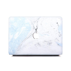 MacBook Case - Baby Blue Fossil | For MacBook Pro & Air | Slick Case