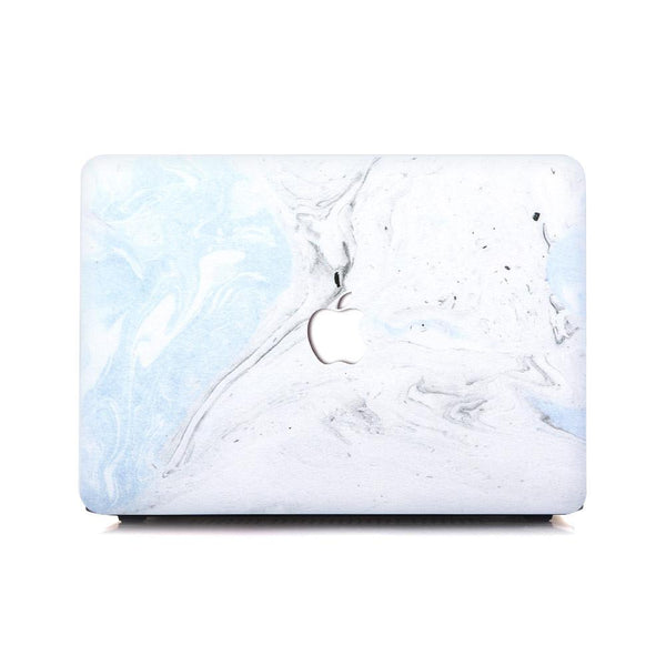 MacBook Case - Baby Blue Fossil