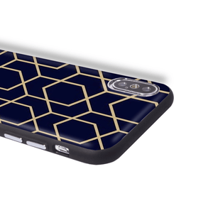 Graphic iPhone Case iPhone Case - Gold Metro Geometric