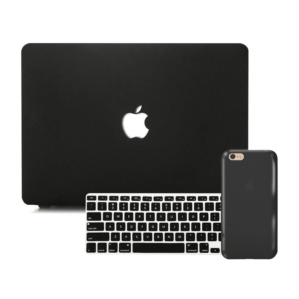 Macbook Discount Package [A1370/A1465] MacBook Air 11' / iPhone 6/6s / Multi-Color Macbook Keypads - Carbon Black MacBook & iPhone Case Package - Carbon Black