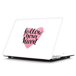 MacBook Case - Follow Your Heart | For MacBook Pro & Air | Slick Case