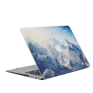 MacBook Case Protective Screen Package - Frosty Heights - Slick Case