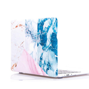MacBook Case - Geo Marble