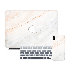 Macbook Discount Package [A1370/A1465] MacBook Air 11' / iPhone 6/6s / Gradient Keypad - Grey MacBook & iPhone Case Package - Gradient Marble