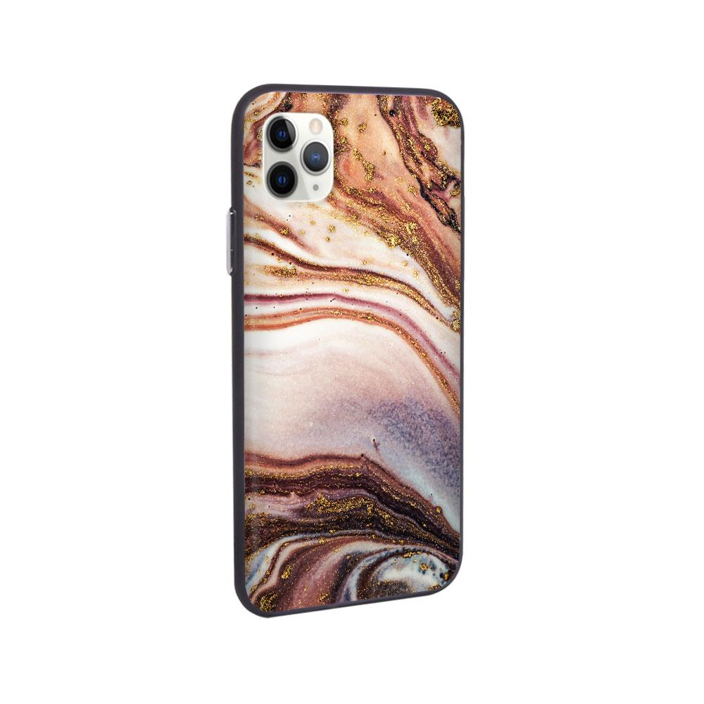 Best iPhone Case - iPhone Case - Nude Glitter Marble