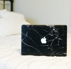 Macbook Case - Inky Marble | For MacBook Pro & Air | Slick Case