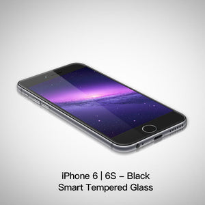 Accessories iPhone 6/6S / Black Tempered Smart Glass Protector