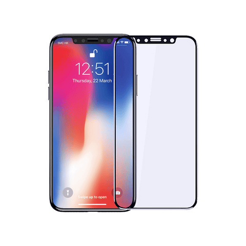 iPhone Accessories - Anti-Blue Ray Tempered HD Glass Protector for iPhone X