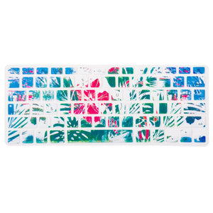 Macbook Keypad Macbook Air 11' [A1370/A1465] Translucent Letter Keypad - Floral Safari