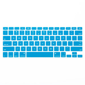Macbook Keypad Macbook Air 11' [A1370/A1465] Translucent Letter Keypad - Sky Blue