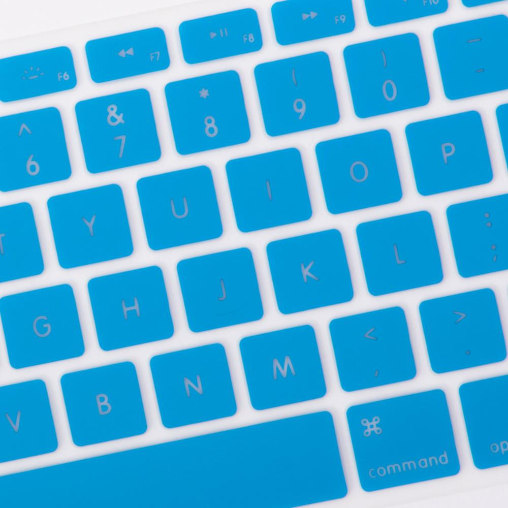 Best Macbook Keypad - Translucent Letter Keypad - Sky Blue