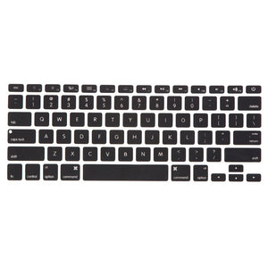 Macbook Keypad Macbook Air 11' [A1370/A1465] Translucent Letter Keypad - Black
